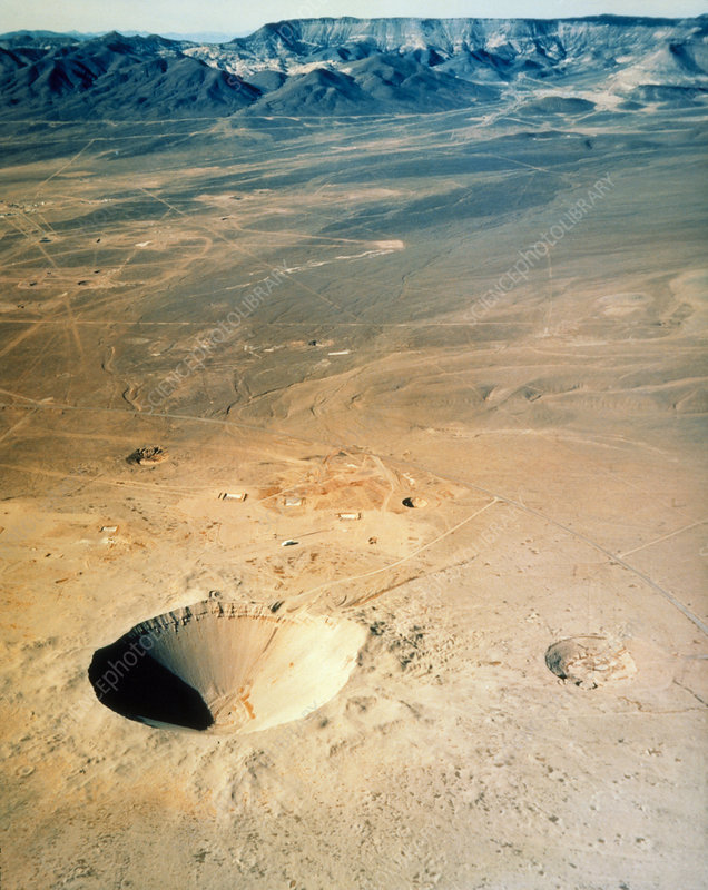 Sedan crater, result of a nuclear test detonation
