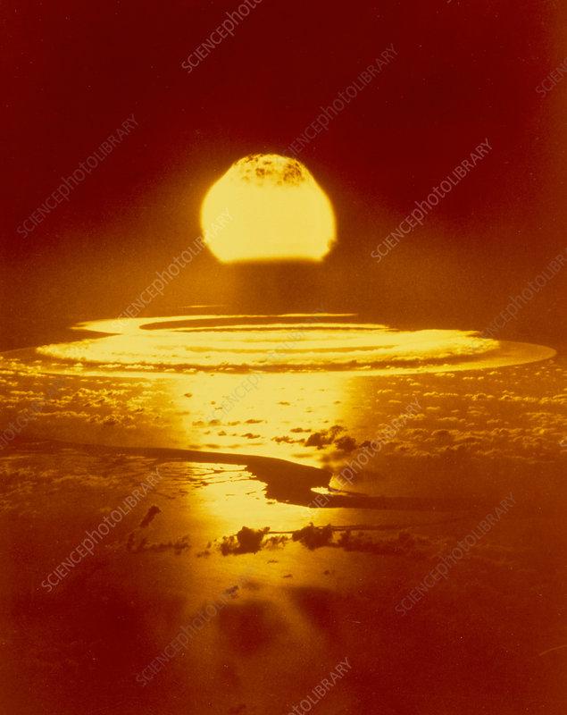 Bikini Atoll atomic bomb