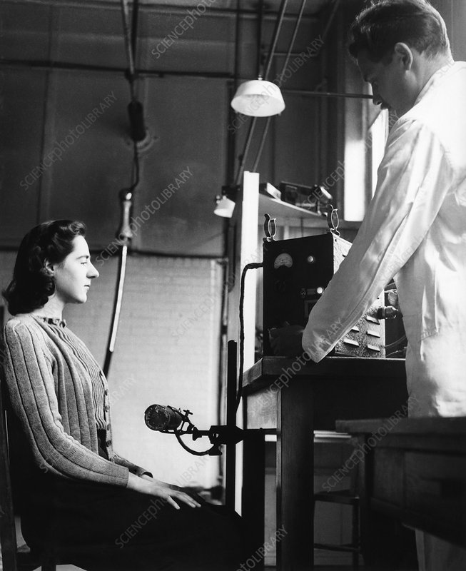 Radiation measurements, 1948