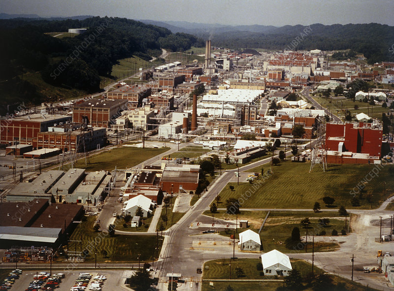 A general view of Oak Ridge nuclear installation