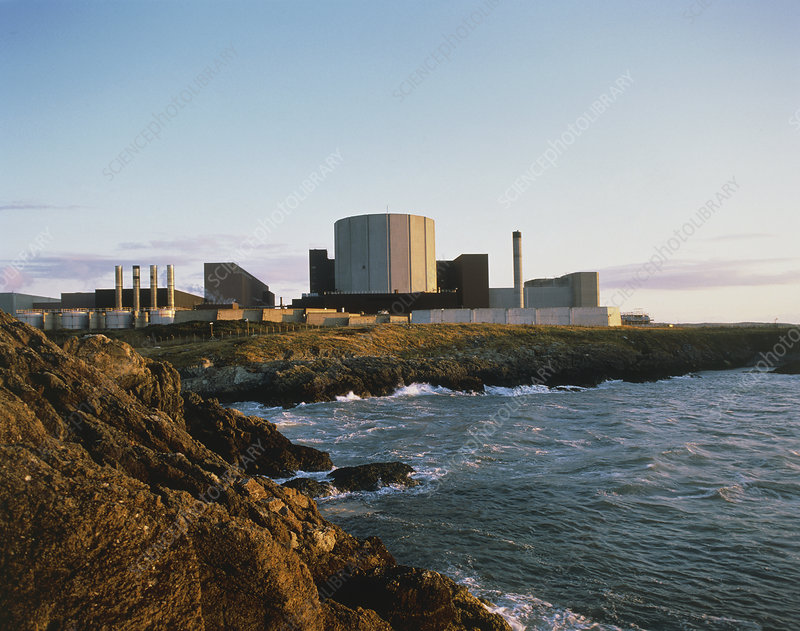 External view of Wylfa nuclear power station