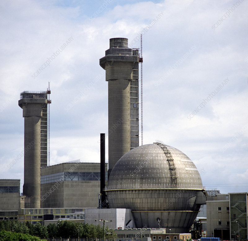 External view of Sellafield nuclear power station