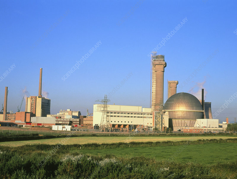 Sellafield nuclear power and reprocessing plant