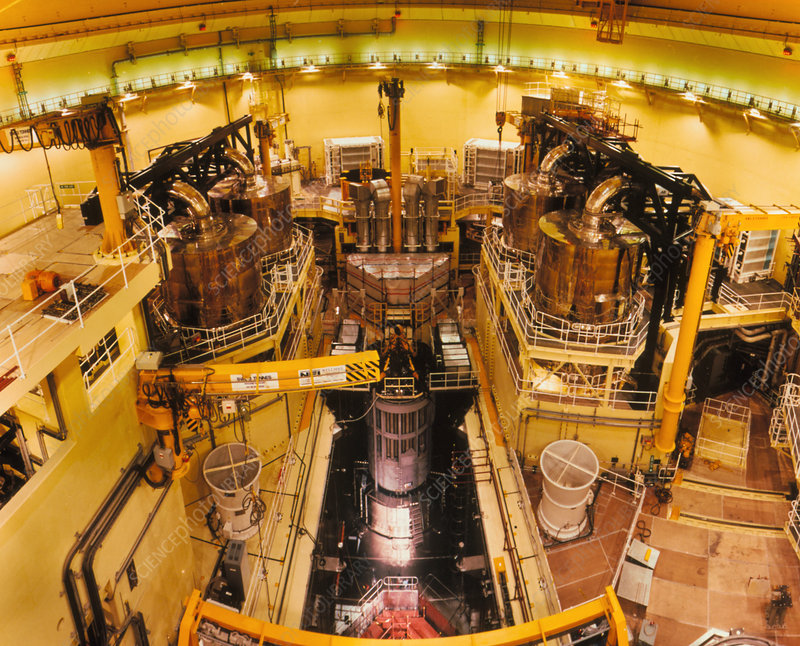 Nuclear reactor of Sizewell B power station