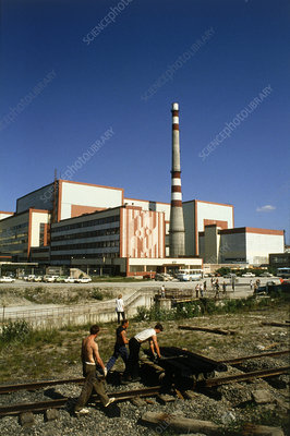 Russian VVER-type nuclear reactor at Kola