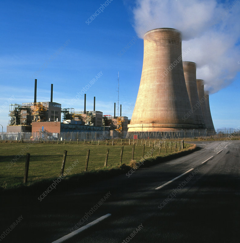 Chapelcross nuclear power station, Scotland