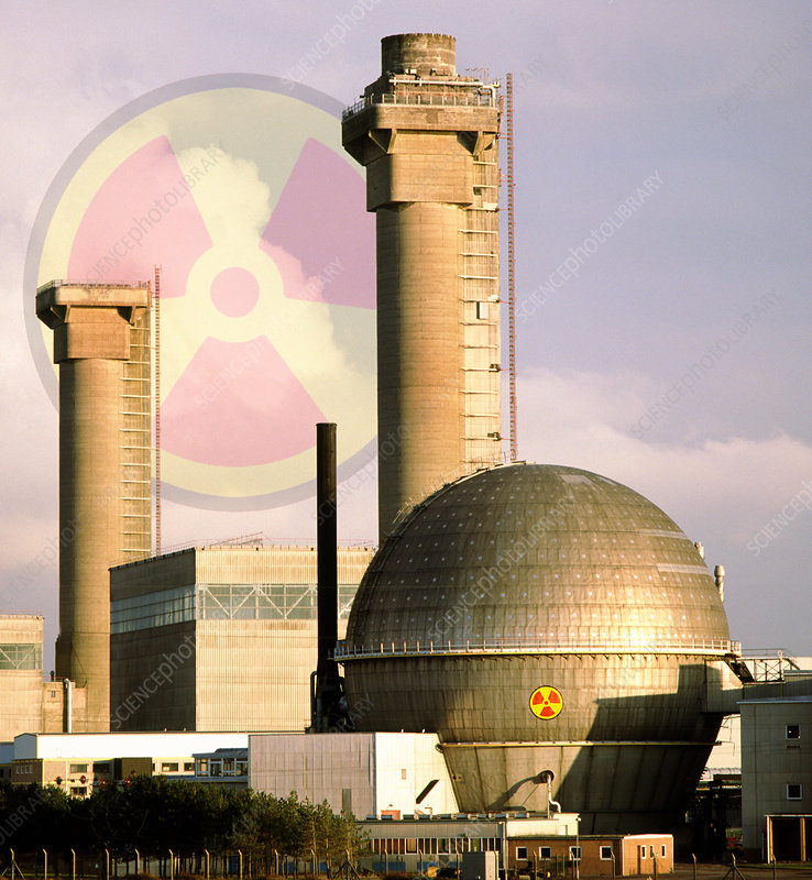 Sellafield reprocessing plant