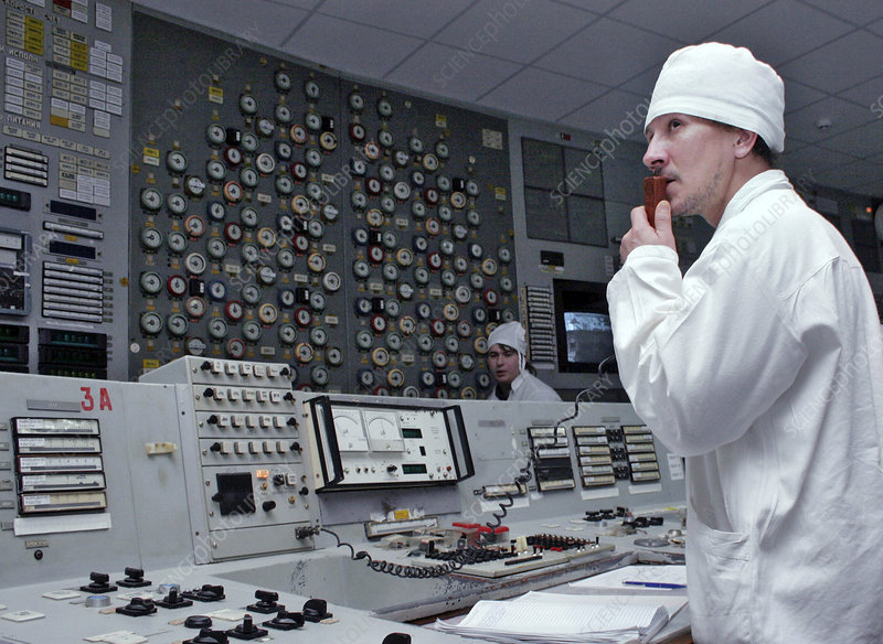 Chernobyl nuclear power plant worker
