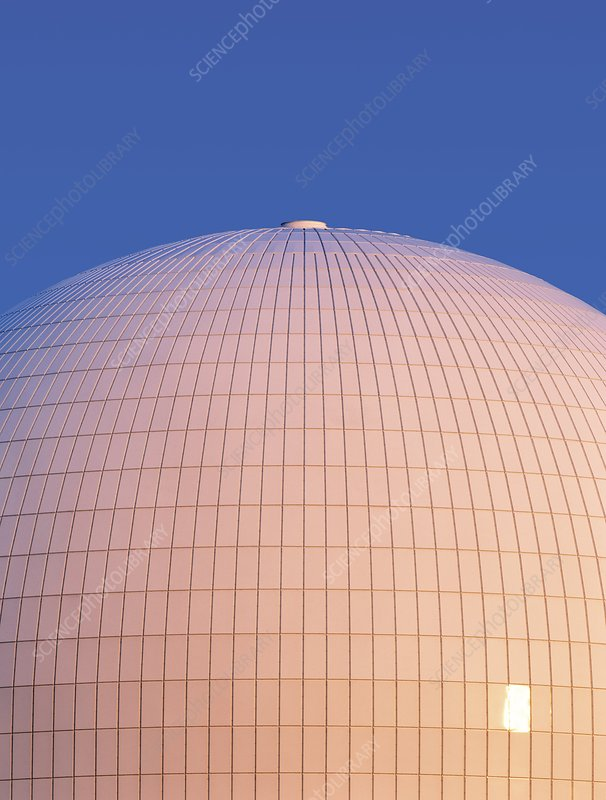 Sizewell B nuclear reactor dome