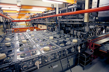 Nuclear fuel assembly, glove boxes