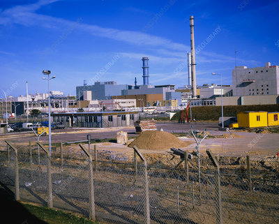 La Hague nuclear fuel reprocessing plant, France