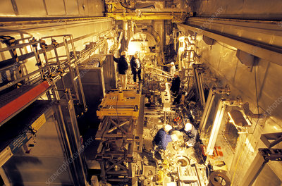 Nuclear waste reprocessing, automation