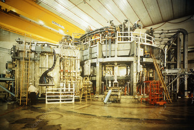 General view of Tokamak Fusion Test Reactor