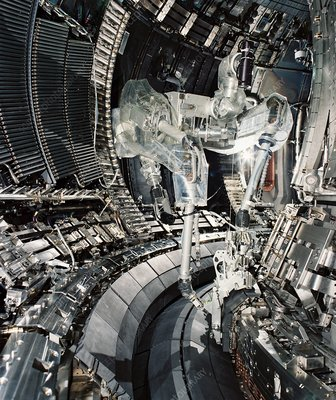 Fusion research, JET Tokamak device