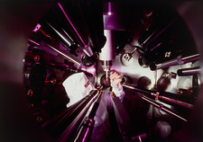 Laser fusion research