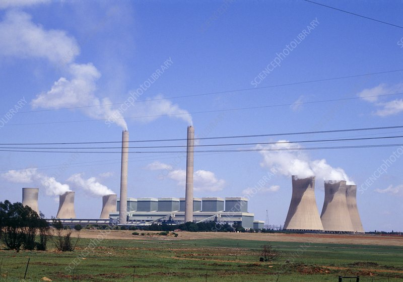 Duvha coal fired power station, South Africa