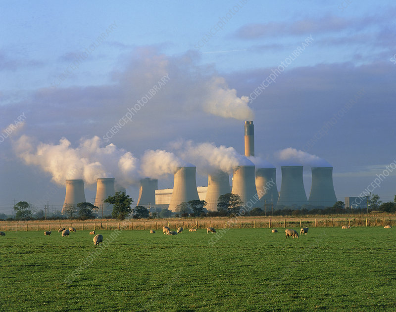 Drax coal-fired power station