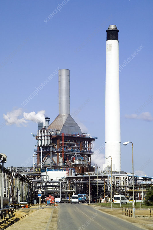 Industrial power station