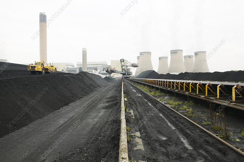 Coal supplies for a power station