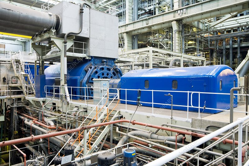 Generator, Fawley power station, UK