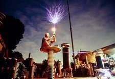 Bill Wysock, Tesla coil demonstration