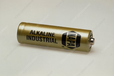 Rechargeable alkaline electric battery
