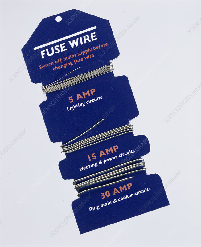 Fuse Wire - Stock Image - T194  0623