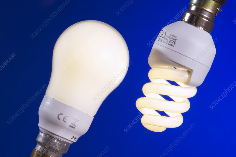 Energy-saving light bulbs