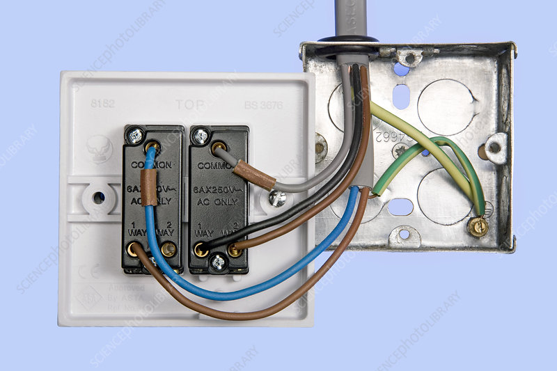 [DIAGRAM_38YU]  Two-way light switch - Stock Image - T194/0883 - Science Photo Library | Light Switch Wiring Ac |  | Science Photo Library