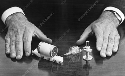 World's first working laser, 1960