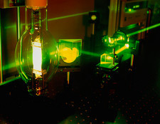 Laser bulb research