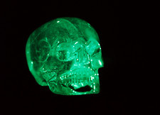 Hologram of a crystal skull