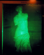 Hologram of the Venus of Milo statue