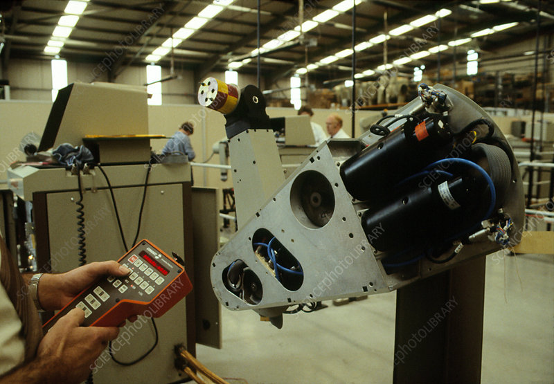 Testing of the Puma robot