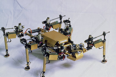 Robot insect at MIT robotics lab