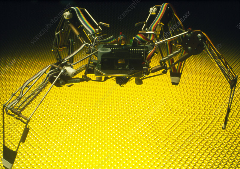 Analogue robot spider