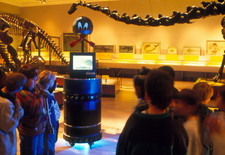 Museum guide robot
