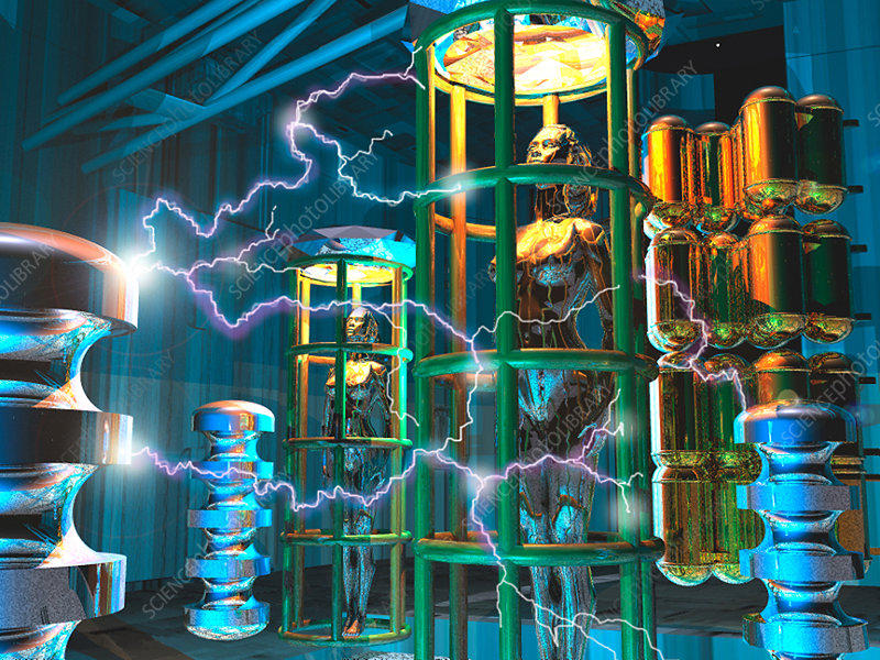 futuristic laboratory stock image t250 0520 enlarged science