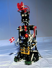 Lego humanoid robot known as Elektra