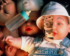 Robot baby doll