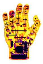 Toy Robotic Hand X-Ray