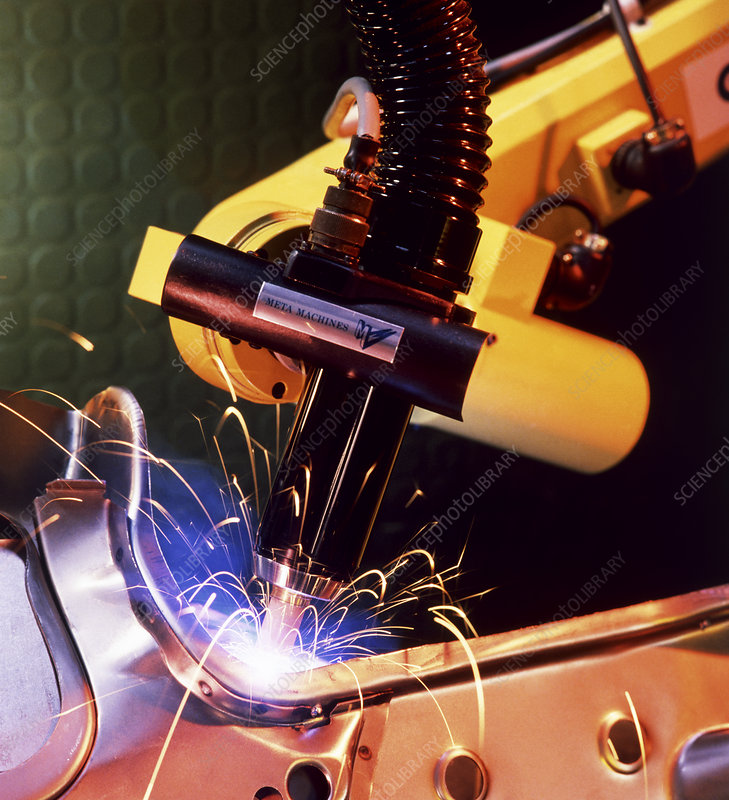 Arc welding using the MetaTorch robot