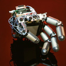Hand of Cog the android robot