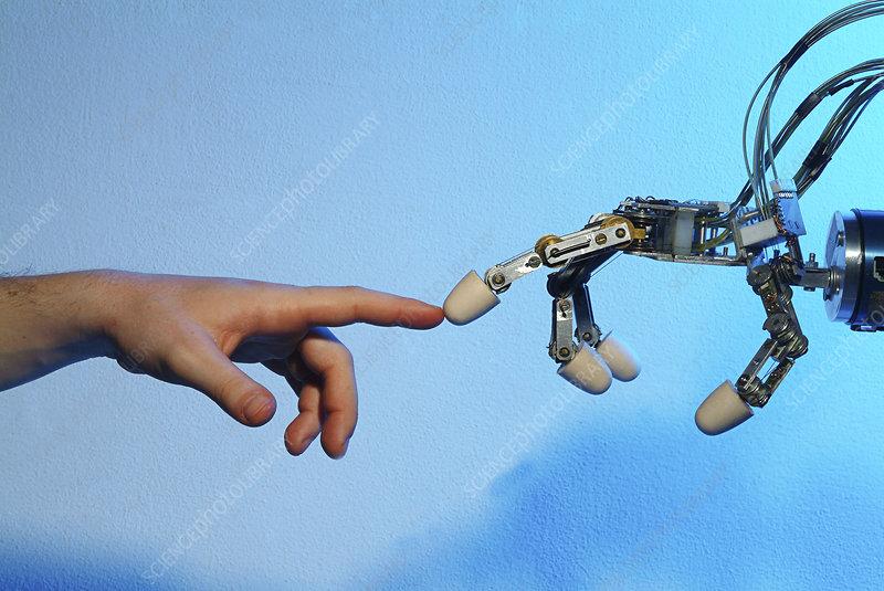 Robotic imitation - Stock Image - T280/0196 - Science Photo