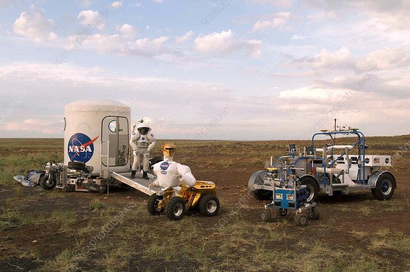 Robonaut field testing