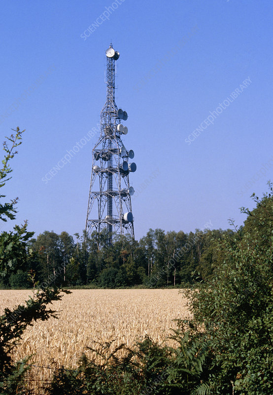 Telecommunications tower in Essex