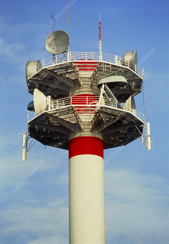 Microwave tower, France