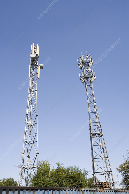 Mobile telephone masts