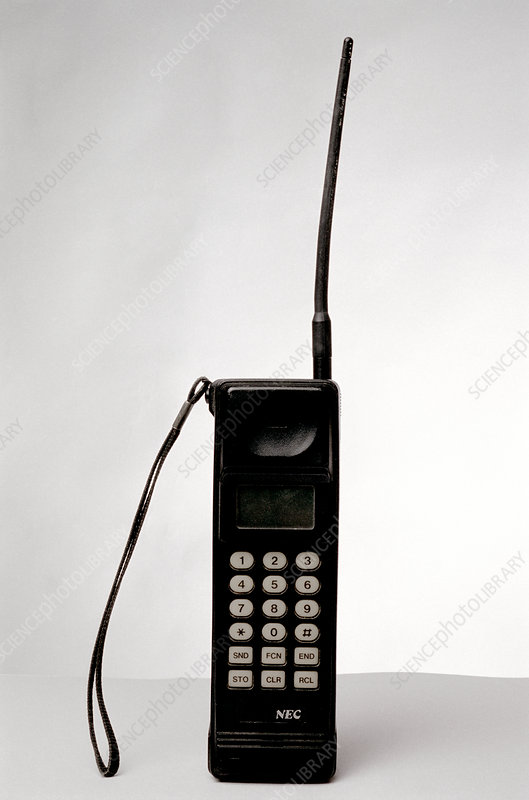 NEC 9A mobile phone, 1980s
