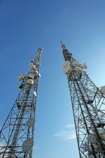 Telecommunications masts